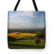 Farmland View Tote Bag