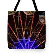 Farris Wheel Close-up Tote Bag
