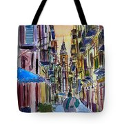 Fascinating Palermo Sicily Italy Street Scene Tote Bag