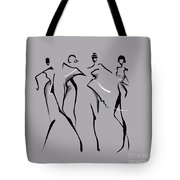 Fashion Abstraction N2 Tote Bag