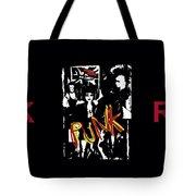 Punk Rock Alternative Style Design Tote Bag