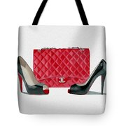 Fashion Statement Tote Bag
