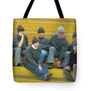 Fashionable Caps Tote Bag
