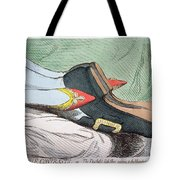 Fashionable Contrasts Tote Bag