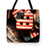 Fashioning A Usa Design Tote Bag