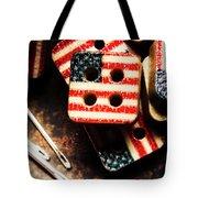 Fashioning A Usa Design Tote Bag