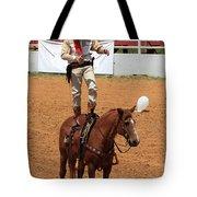 Fast Draw Cowboy Tote Bag
