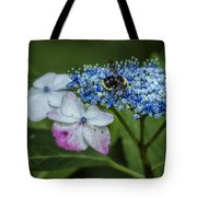 Fast Food For Bumblebees Tote Bag