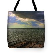 Fast Moving Storm Tote Bag