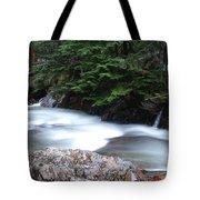Fast Water Tumbling Fast  Tote Bag