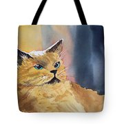 Fat Cat Tote Bag