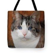 Fat Cats Of Ballard 3 Tote Bag