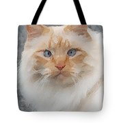 Fat Cats Of Ballard II Greeting Card Tote Bag