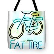 Fat Tire Tote Bag
