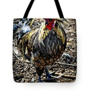 Fat Tuesday - Mardi Gras Chicken Tote Bag