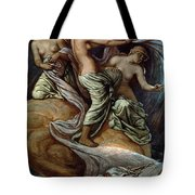 Fates Gathering In Stars Tote Bag by Granger