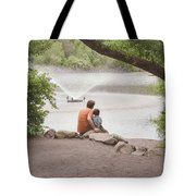 Father And Son 2 Tote Bag