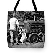 Father/daughter Day Tote Bag by Rick Morgan