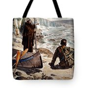 Father Louis Hennepin Tote Bag