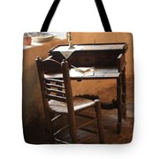 Father Serra's Desk Tote Bag