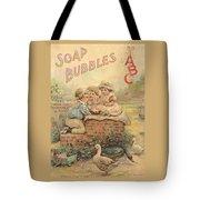 Father Tucks Soap Bubble Tote Bag
