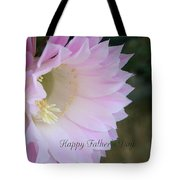 Fathers Day Cactus Tote Bag