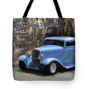 Fathers Day Classic Dad Tote Bag