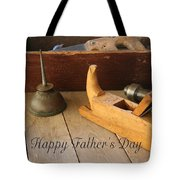 Fathers Day Tools Tote Bag