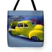 Father's Day W Frame Tote Bag