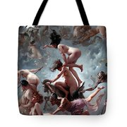 Faust's Vision Tote Bag by Luis Riccardo Falero