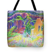 Faux Gate In Gateway Colorado Tote Bag