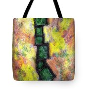 Faux Tile Two Tote Bag