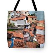 Favela In Salvador Da Bahia Brazil Tote Bag