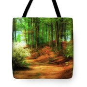 Favorite Path Tote Bag