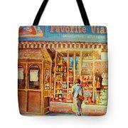 Favorite Viande Market Tote Bag