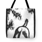 Fawn And Cottontail Greeting Tote Bag