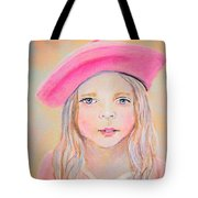 Fayanna Little French Angel Of Trust Tote Bag