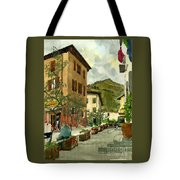 Fdr Piazza Regello Tote Bag