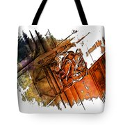 Fear Earthy Rainbow 3 Dimensional Tote Bag