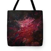 Fear Series, Iv Tote Bag by Daniel Hannih