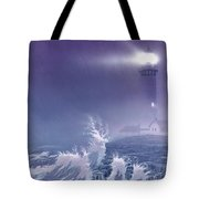 Fearless - Psalm 27 Tote Bag