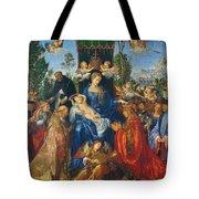 Feast Of Rose Garlands Tote Bag