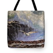 Feather And Foam Tote Bag