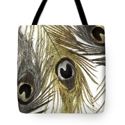 Feather Fashion Tote Bag