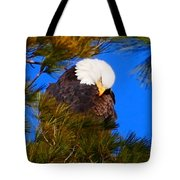 Feather Fluff Tote Bag