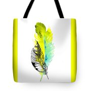 Feather Fusion Tote Bag