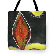 Feather In The Night Tote Bag