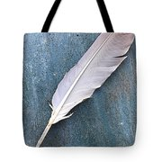 Feather Of A Dove Tote Bag
