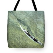 Feather On Beach Tote Bag