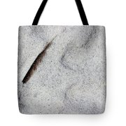 Feather, Shell And Sand Tote Bag